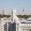 Palacio de Comunicaciones — Stock Photo