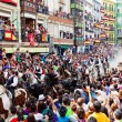 Festival of bulls and horses — Foto de Stock