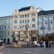 Central square in Bratislava — Stock Photo