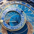 Old astronomical clock — Stock Photo