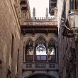 Stock Photo: Gothic quarter