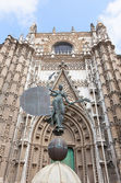 Cathedral in Seville — Stock Photo