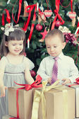 Small children — Stock Photo