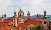 Historical districts of Prague — Stock Photo