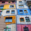 Hundertwasser Haus on July 26, 2013 in Vienna — Stock Photo