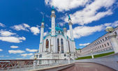 Qol Sharif mosque in Kazan, Russia. Vertical shot. — Stock Photo
