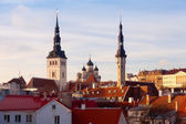View of the old town. Tallinn, Estonia, Europe — Stock Photo