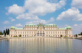Belvedere in Vienna in Baroque style — Stock Photo