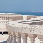 Observation deck on Santa Engrassiya's (Pantheon) of church — Stock Photo
