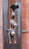 Monument of Bremen Town Musicians — Stock Photo