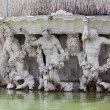 Stock Photo: Neptune Fountain at the Schonbrunn Palace, Vienna, Austria