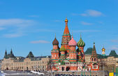 モスクワ、ヴァシリー ・ blazhenogo の寺院 — ストック写真