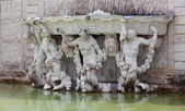 Neptune Fountain at the Schonbrunn Palace, Vienna, Austria — Stock Photo