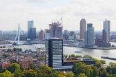 City views Rotterdam — Stock Photo