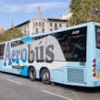 Airport Aerobus in Barcelona. — Stock Photo