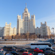 Stok fotoğraf: Big transport stopper, Moscow