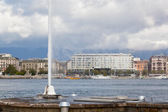 View of city of Geneva — Stock Photo