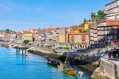 Porto, Portugal, early in the morning — Stock Photo
