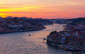 Hill with old town of Porto — Stock Photo