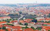 View of the historical districts of Prague — Stock Photo