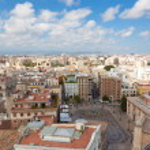 Historical center of Valencia — Stock Photo #42736883