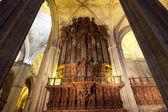 Ancient pipe organ — Photo
