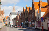 Street in Bruges — Stock Photo