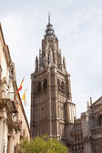 Cathedral de Toledo structured in gothic sytle — Stock Photo