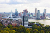 City views Rotterdam — Stock Photo