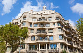 Casa Mila in Barcelona — Stock Photo