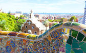 Views from the Parc Guell — Stock Photo