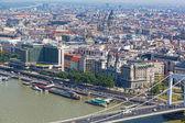 Terraplén del danubio en budapest — Foto de Stock