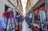 Souvenirs market in Granada — Stock Photo