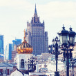 View from the Cathedral of Christ the Saviour — Stock Photo #46795807