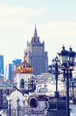 View from the Cathedral of Christ the Saviour — Stock Photo