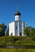 Church of Intercession upon Nerl River — Stock Photo
