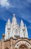 Expiatory Church of the Sacred Heart of Jesus — Stock Photo