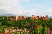 Blick auf die Alkhambr-Festung — Stockfoto