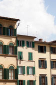 Ancient houses in Florence — Stock Photo