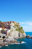 Picturesque view of Manarola — 图库照片