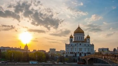 Cathedral of Christ the Saviour — ストックビデオ
