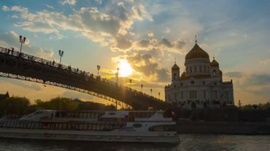 Cathedral of Christ the Saviour — Stok video