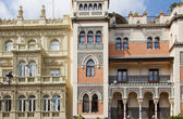 Traditional architecture of Seville — 图库照片