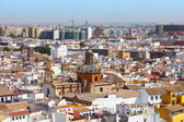 Top view of Seville — 图库照片