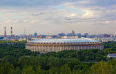 Big sports arena Luzhniki, Moscow — Stock Photo