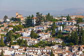 View of Arab quarter, Granada — Stock Photo