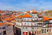 Fishing quarter Ribeira in Porto — Stock Photo