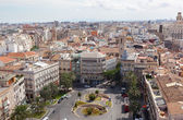 View of historical center of Valencia — Stock Photo