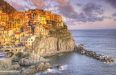 Picturesque view of Manarola — Foto Stock