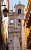Belltower of old church in Porto — Stock Photo